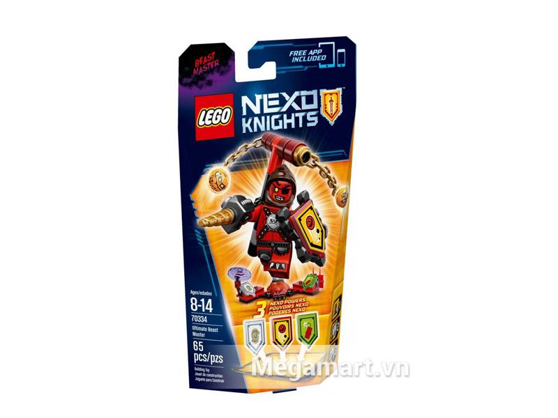 Bộ ghép hình Lego Nexo Knights 70334 - Quỷ Chỉ Huy dành cho các bé tư 8 đến 14 tuổi