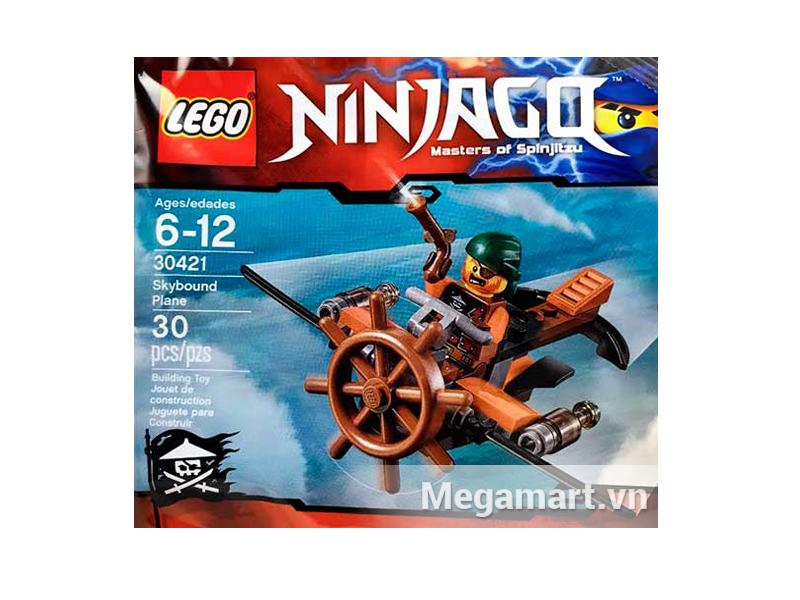 Bộ xếp hình Lego Ninjago 30421 - Tàu Không Tặc dành cho trẻ từ 6 đến 12 tuổi