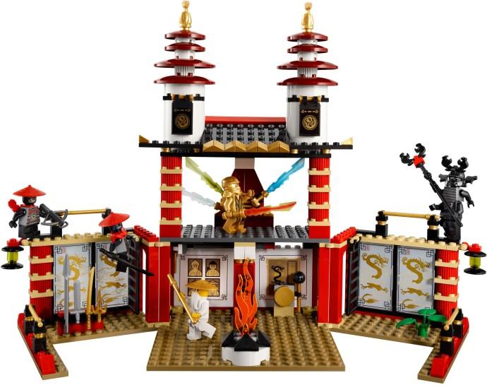 Hình ảnh chi tiết đồ chơi  Lego Ninjago 70505 - Ngôi đền ánh sáng