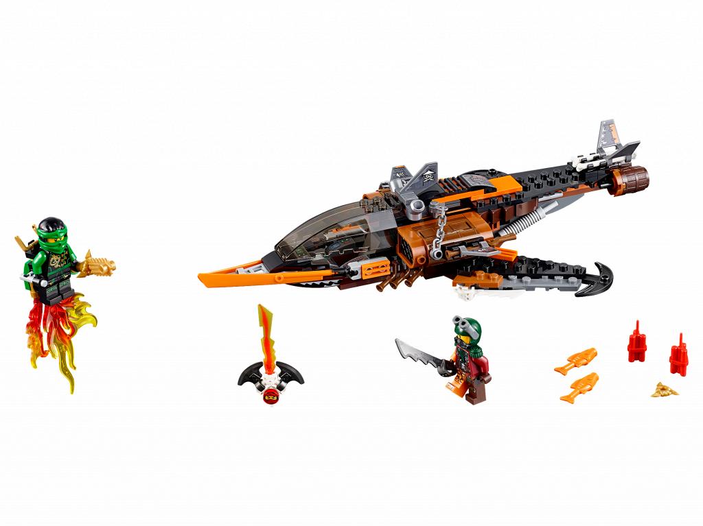 Toàn bộ sản phẩn Lego Ninjago 70601 - Phi Cơ Chiến Đấu Cá Mập