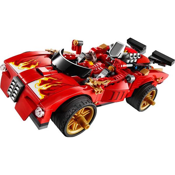 Chiếc xe cơ động và mạnh mẽ của Kai trong bộ Lego Ninjago 70727 - Xe Hơi Chiến Đấu của Kai