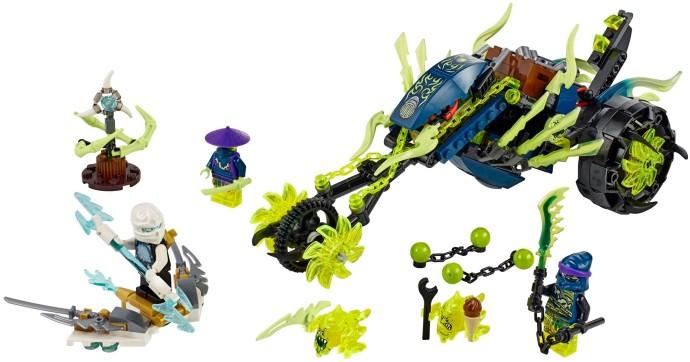 Lego Ninjago 70730 - Xe Phục Kích được yêu thích đặc biệt với 3 mô hình nhân vật Ninjago