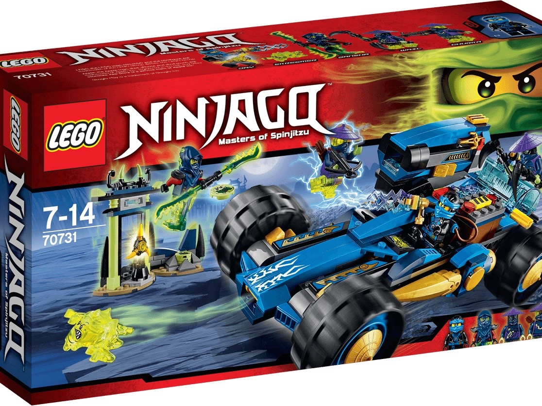 Vỏ sản phẩm Lego Ninjago 70731 - Jay - Kẻ Lữ Hành