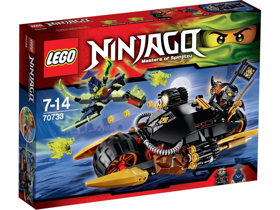 Vỏ sản phẩm Lego Ninjago 70733 - Xe phá hủy