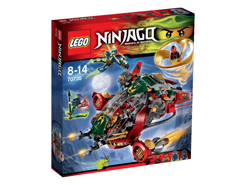 Vỏ ngoài sản phẩm Lego Ninjago 70735 - Tàu Chiến Ronin R.E.X