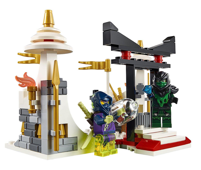Khung cảnh trong bộ xếp hình Lego Ninjago 70736 - Cuộc Tấn Công Của Rồng Morro