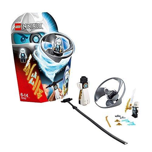 Bộ đồ chơiLego Ninjago 70742 - Lốc Xoáy Trên Không của Zane dành cho các bé trai 6-14 tuổi