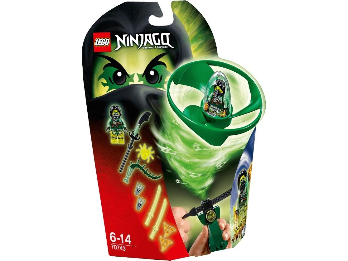 Vỏ sản phẩm Lego Ninjago 70743 - Lốc Xoáy Trên Không của Morro