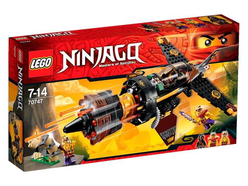 Vỏ sản phẩm Lego Ninjago 70747 - Phi Thuyền Đá