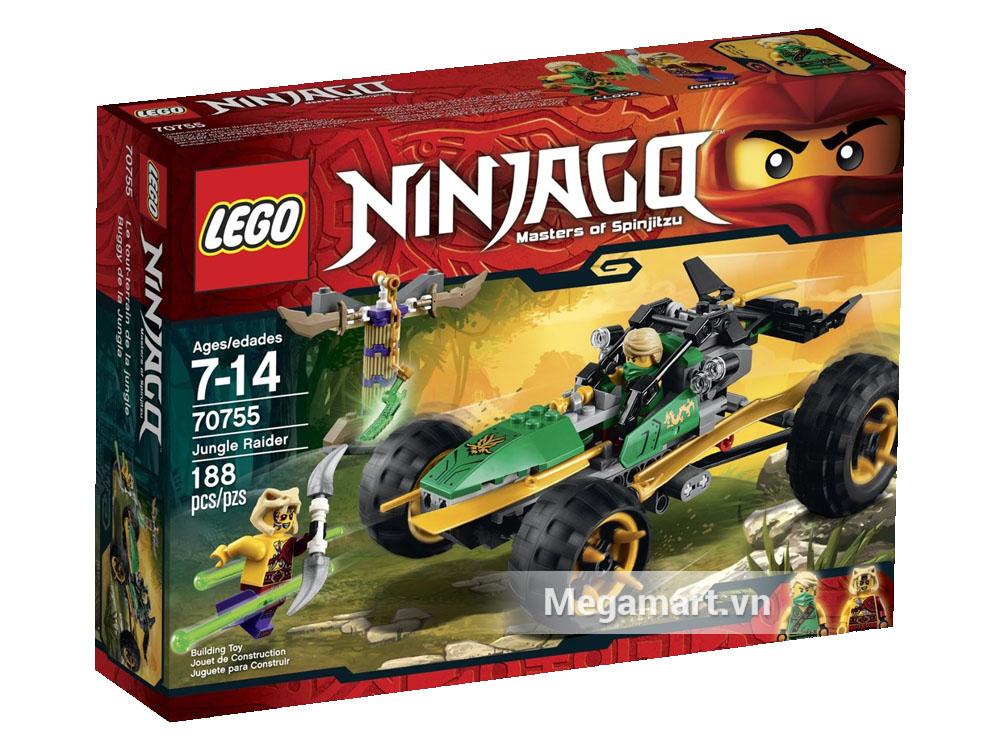 Vỏ ngoài sản phẩm Lego Ninjago 70755 - Biệt Đội Rừng