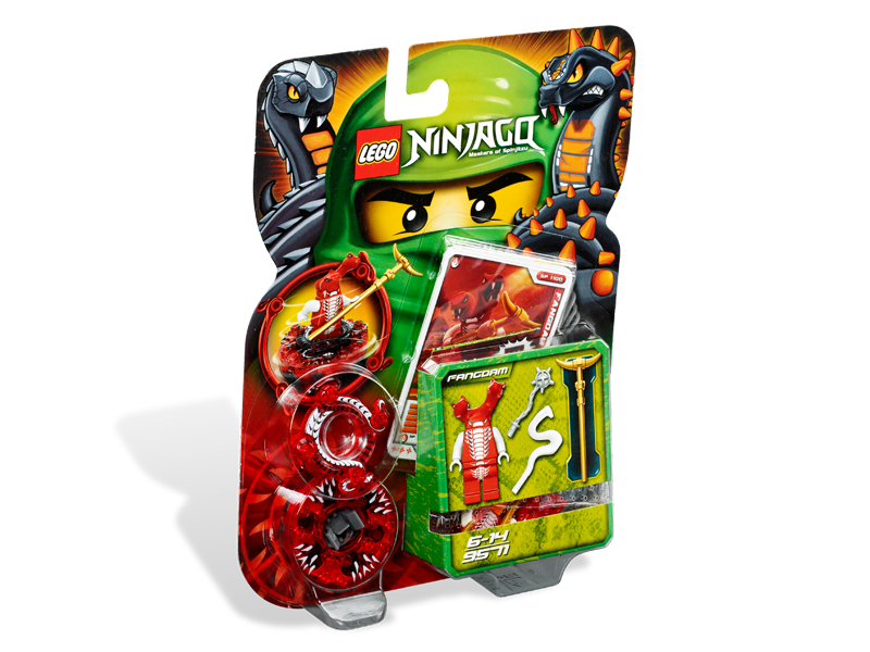 Vỏ sản phẩm Lego Ninjago 9571 - Fangdam
