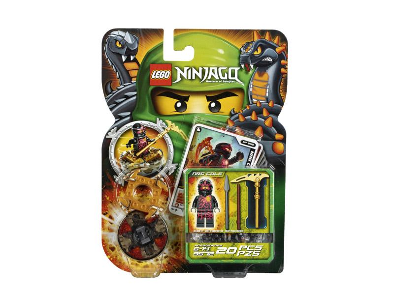 Vỏ ngoài hộp sản phẩm Lego Ninjago 9572 - NRG Cole