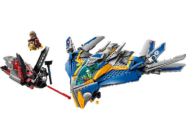 Các mảnh ghép có trong bộ đồ chơi Lego Super Heroes 76021 - Giải Cứu Phi Thuyền Milano