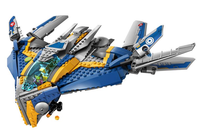 Mô hình tàu không gian tuyệt đẹp của bộLego Super Heroes 76021 - Giải Cứu Phi Thuyền Milano