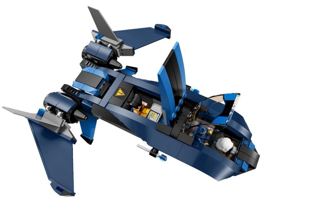 Phi thuyền chiến đấu trong bộ Lego Super Heroes 76022 - Dị Nhân Đương Đầu Lính Canh
