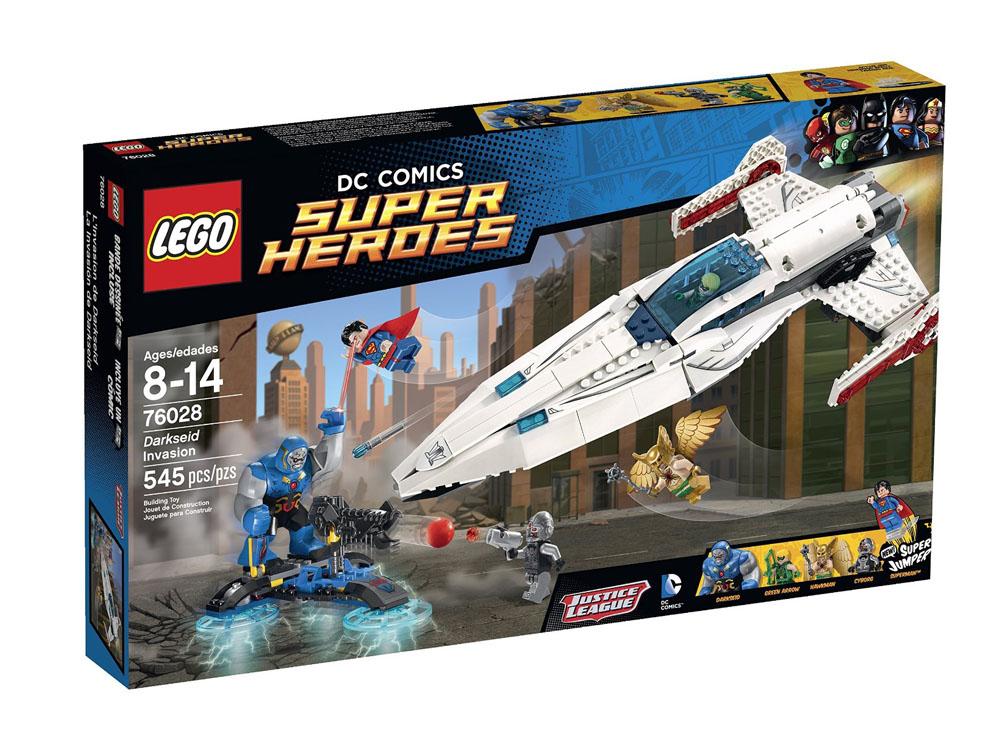 Bìa bộ LEGO 76028 chính hãng, giúp phụ huynh phân biệt khi mua đồ chơi cho con