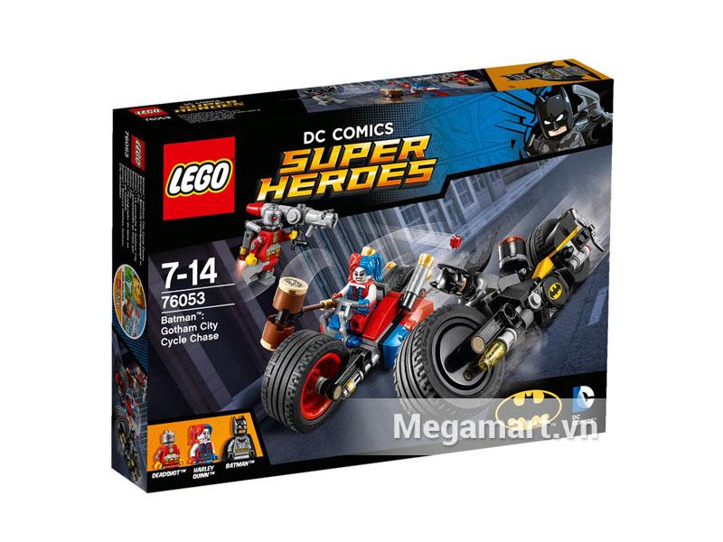 Hình ảnh bộ ghép Lego Super Heroes 76053 - Rượt Đuổi Người Mèo Ở Thành Phố Gotham hình dành cho các bé từ 7 đến 14 tuổi