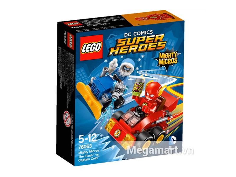 Hình ảnh bộ ghép hình Lego Super Heroes 76063 - Tia Chớp Đại Chiến Đội Trưởng Cold