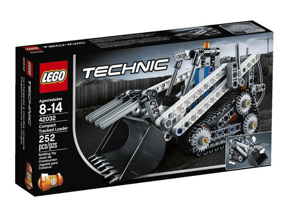Vỏ sản phẩm Lego Technic 42032 - Xe Xúc Cơ Động