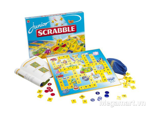 Cách sử dụng Mattel Scrabble tiếng Anh Junior
