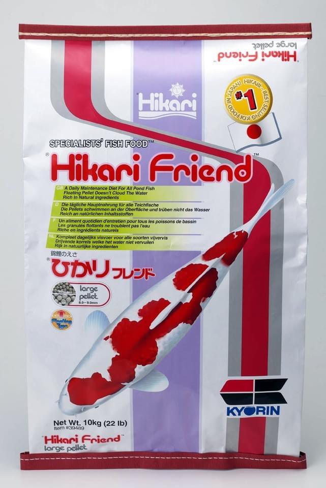 Thức ăn Nhật Bản thân thiện hệ tiêu hoá Hikari Friend 10kg cho cá Koi