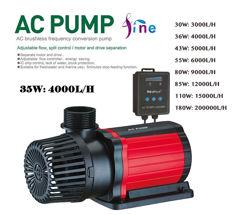 Máy bơm đẩy AC-4000 EnjoyRoyal ACP-631 điều chỉnh 10 cấp độ cho hồ cá Koi