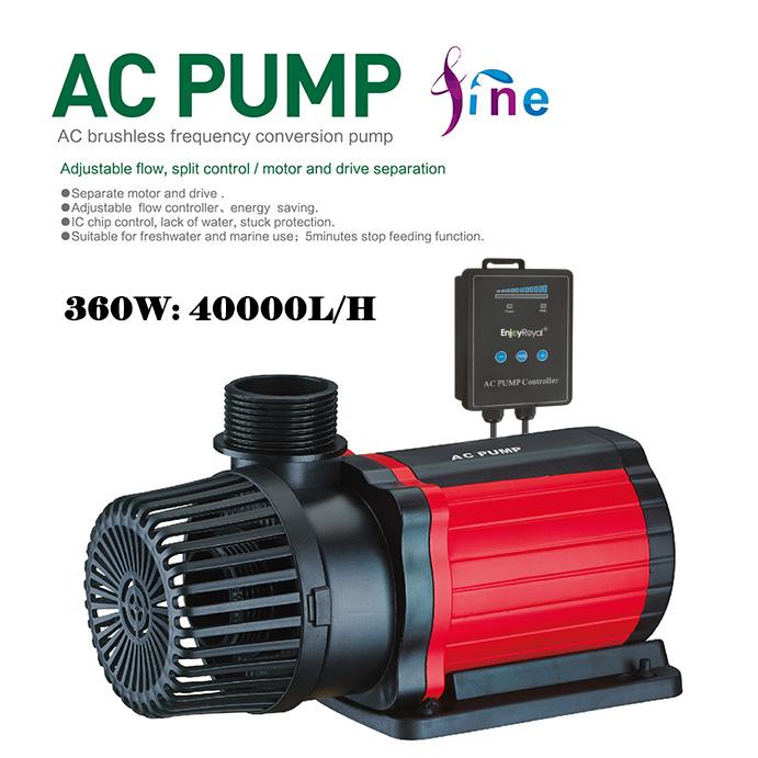 Máy bơm đẩy EnjoyRoyal ACP-631 AC-40000 điều chỉnh 10 cấp độ cho hồ cá Koi