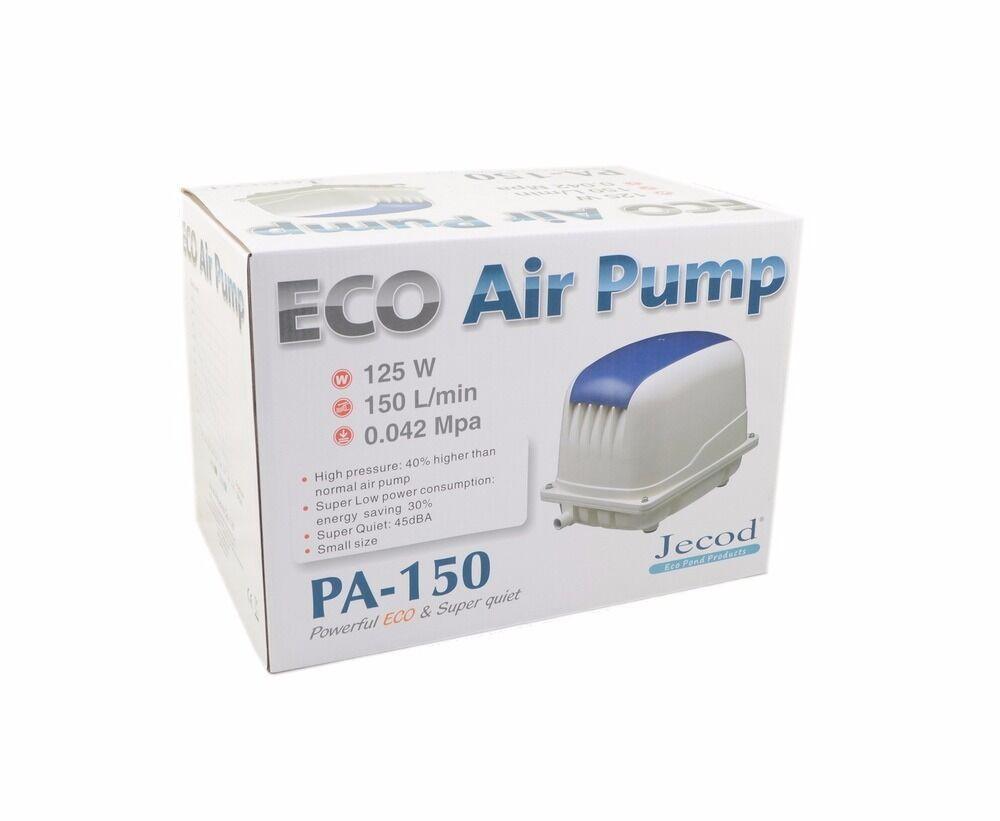 Máy sục khí oxy Jecod Eco PA-150 chuyên dụng hồ cá Koi