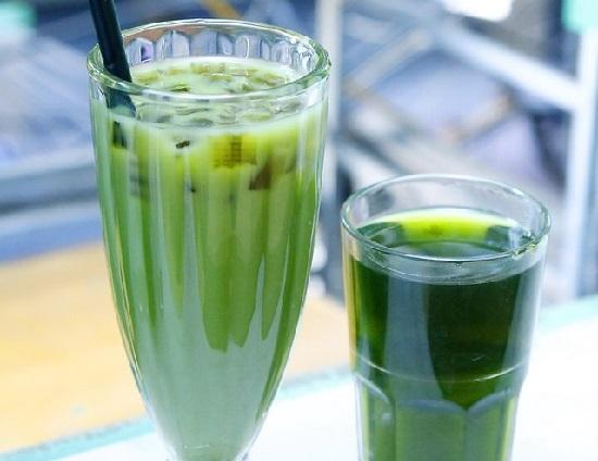 cách nấu trà sữa thái xanh Cách nấu trà sữa thái xanh năng lượng cho cả mùa hè nắng nóng combo trai sua thai