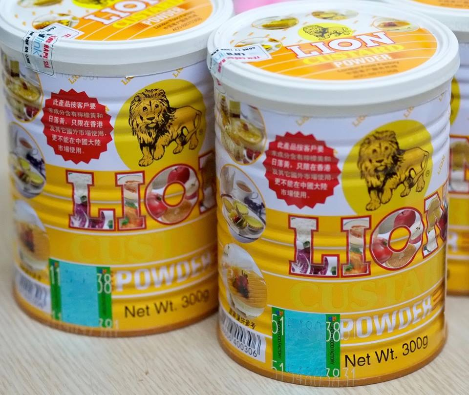 Custard Lion Powder 300gr 6924606400306