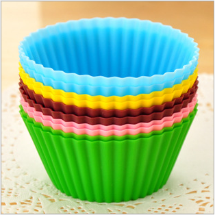 Khuôn cupcake silicon 5cm (2 chiếc)