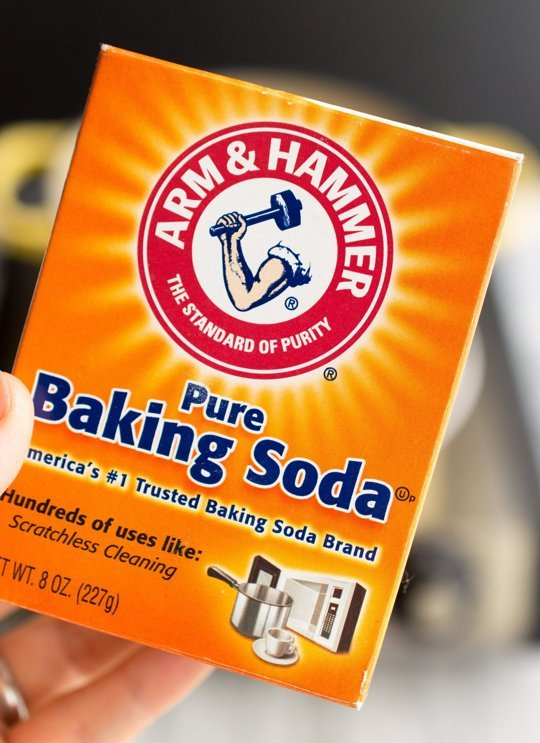 Baking soda hộp 454g