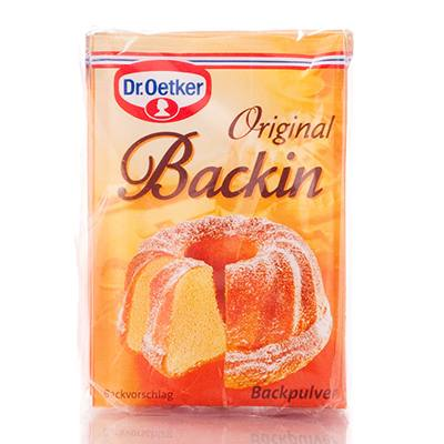 Bột baking powder Dr.0etker 16gr