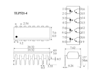 IC logic TLP521 1