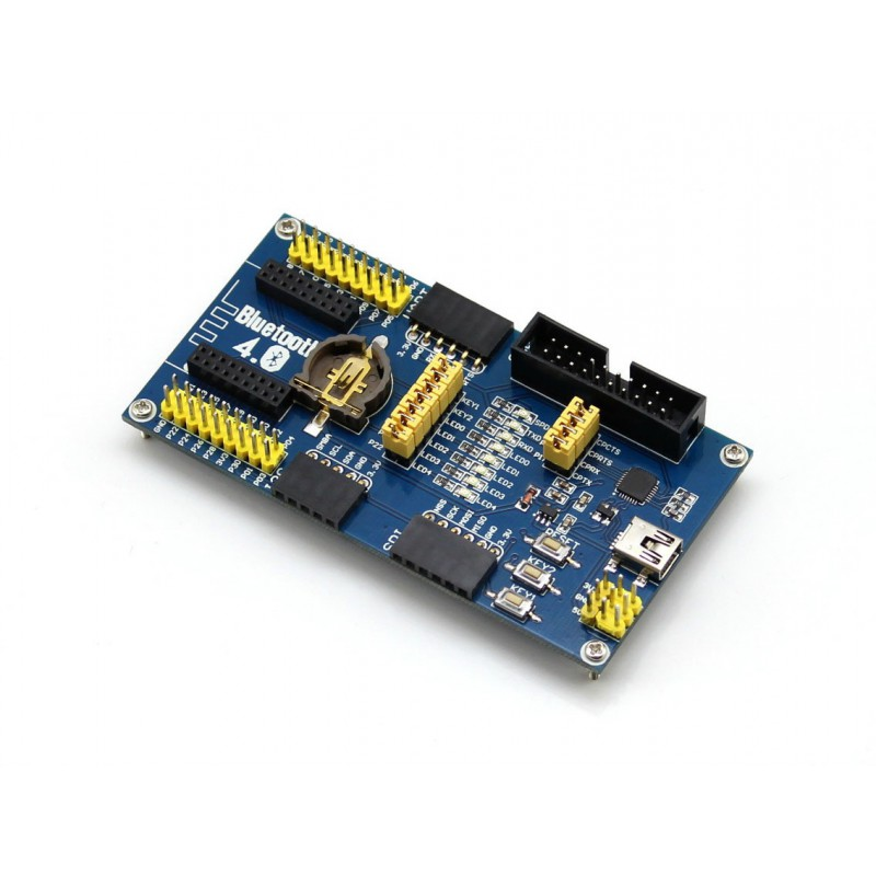 kit-bluetooth-4-0-nrf51822-eval-waveshare