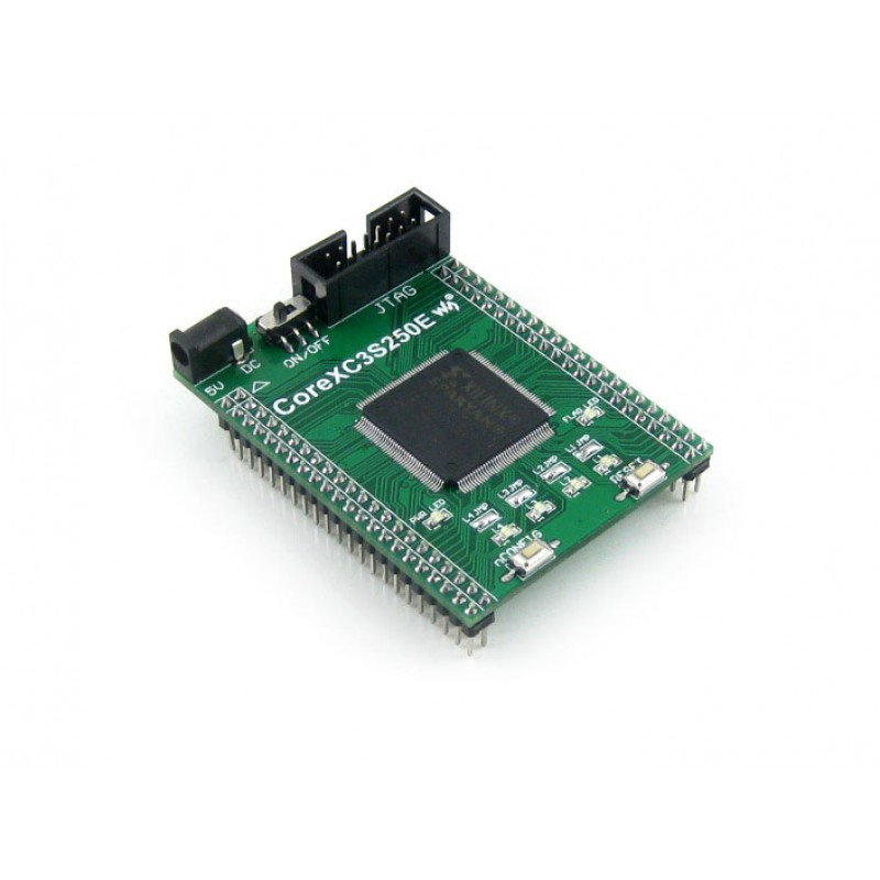 kit-fpga-xilinx-core3s250e-waveshare