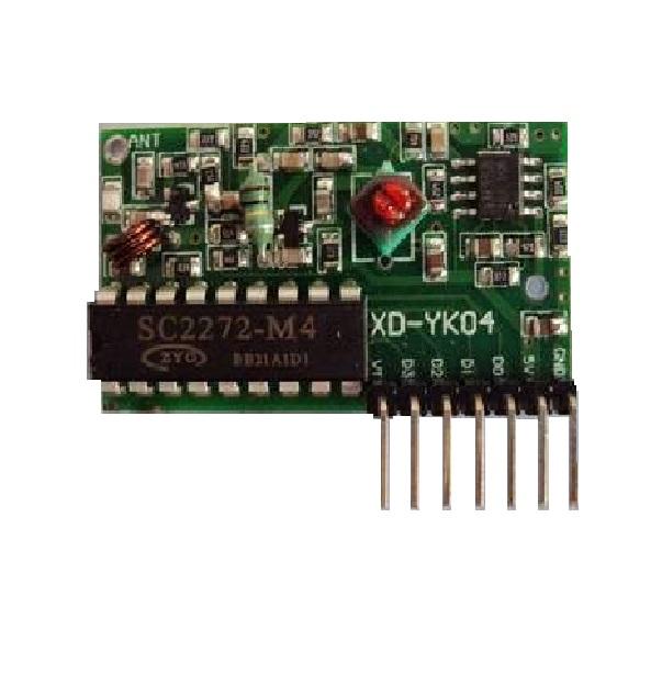 module-thu-rf-pt2272-t4-433mhz