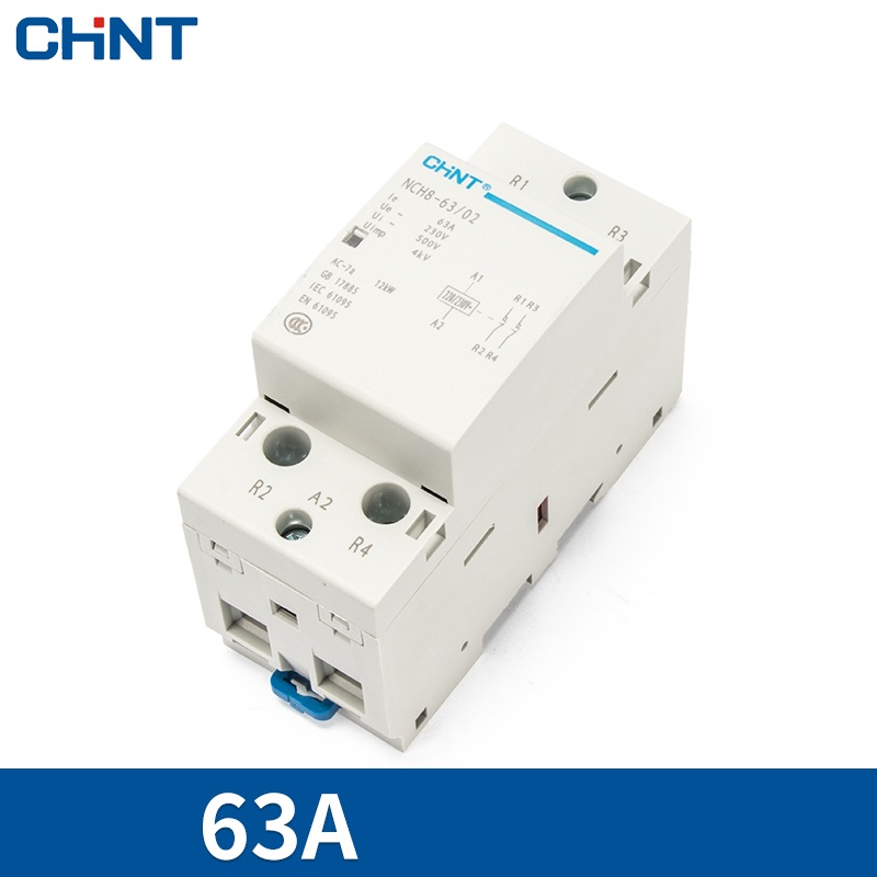 khoi-dong-tu-1-pha-63a-2p-chint-nch8-63-20-2-no