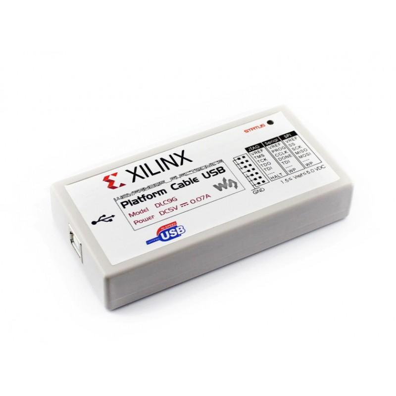 mach-nap-cho-fpga-cpld-xilinx-platform-cable-usb-dlc9g-waveshare