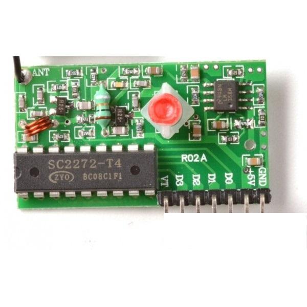 module-thu-rf-pt2272-t4-315mhz