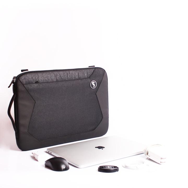 Túi laptop Siva Boss cao cấp black