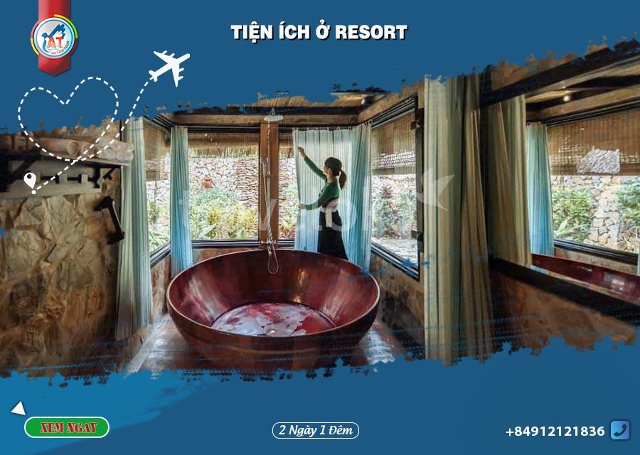 Tour Mai Châu ngủ Resort