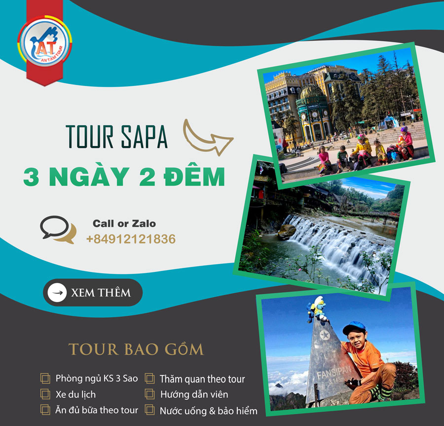Tour Sapa 3 ngày