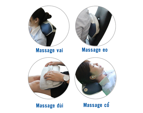 Gối Massage Buheung MK-316 New