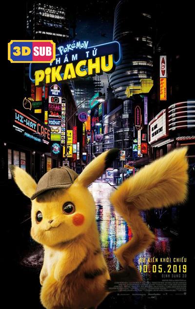 105 - Pokémon 2019 - Detective Pikachu - Thám Tử Pikachu