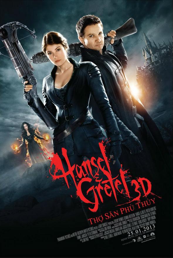 8823 - Hansel & Gretel: Witch Hunters (2013) - Thợ Săn Phù Thủy