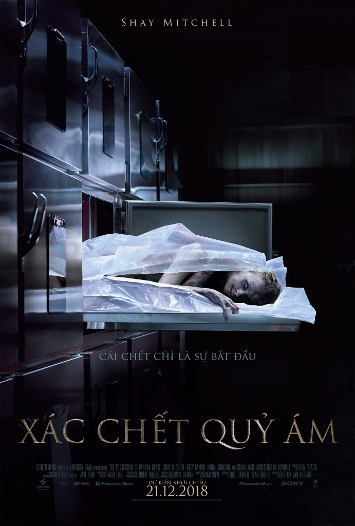9 - The Possession of Hannah Grace 2019 - Xác Chết Quỷ Ám