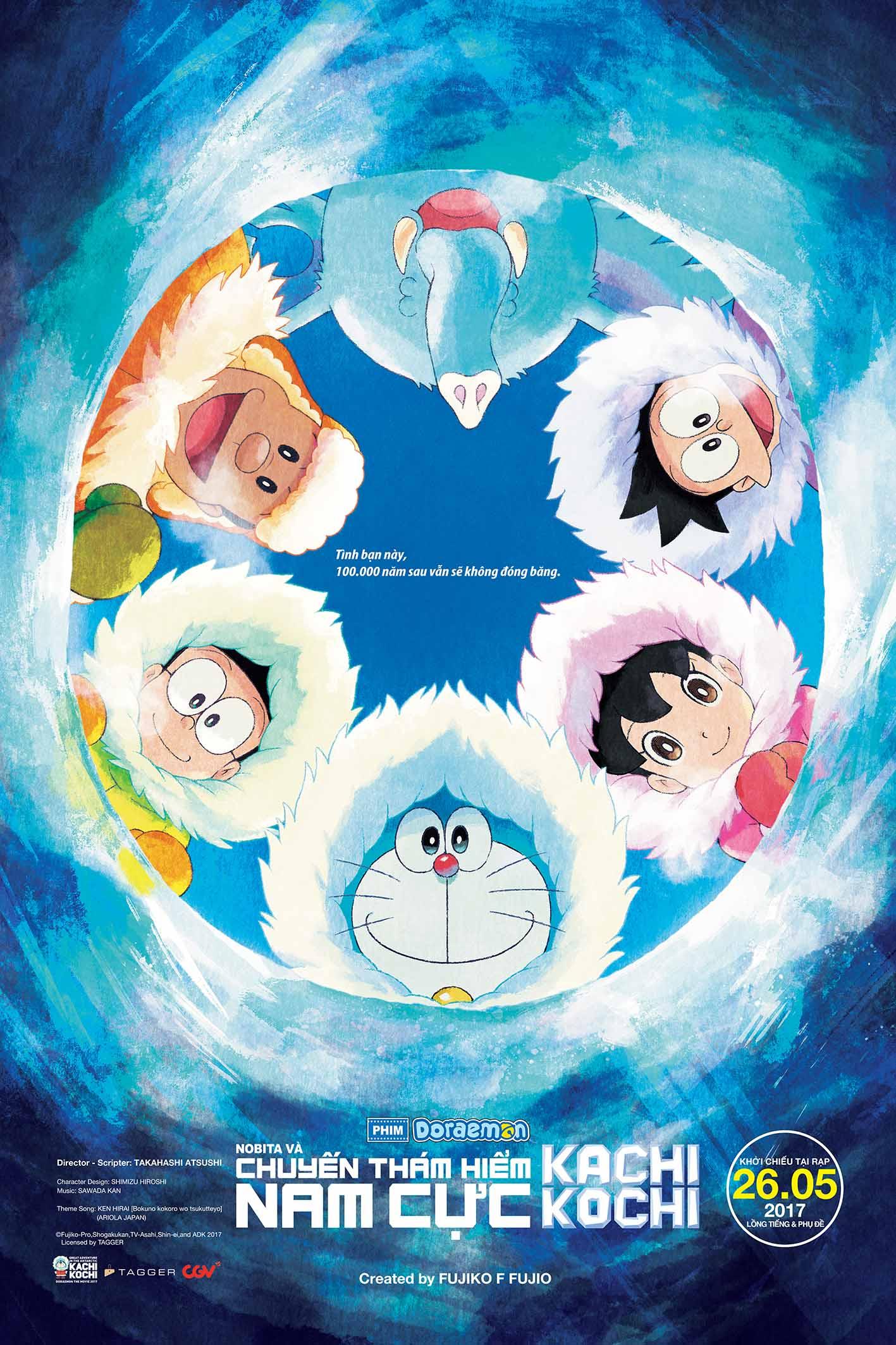 6659 - Doraemon: Nobita và chuyến thám hiểm Nam Cực Kachi Kochi