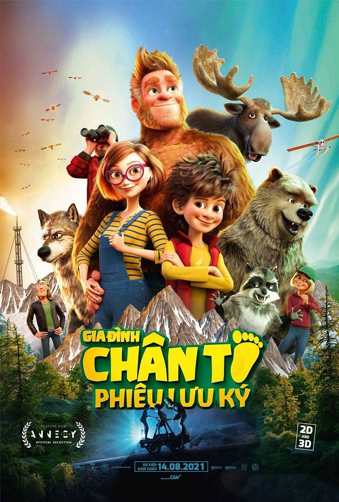 339 - Bigfoot Family - 2020 - Gia Đình Chân To Phiêu Lưu Ký