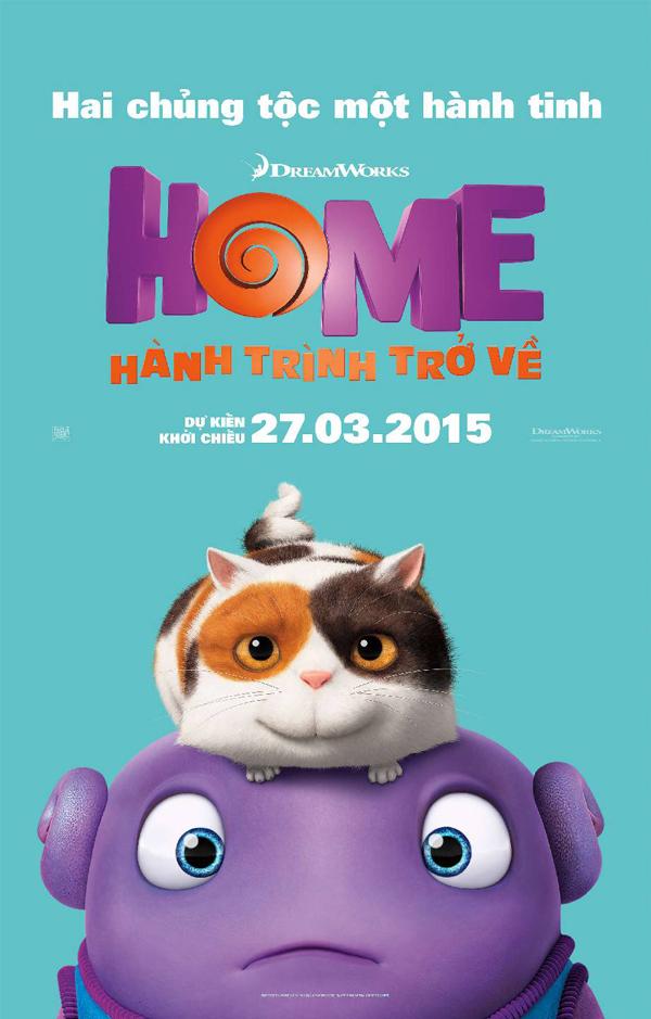 6657 - Home (2015) - Hành Trình Trở Về